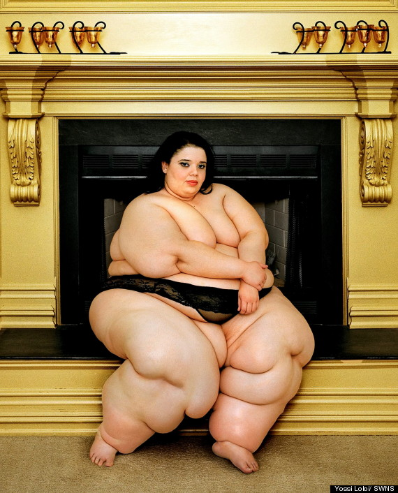 Naked very obese people