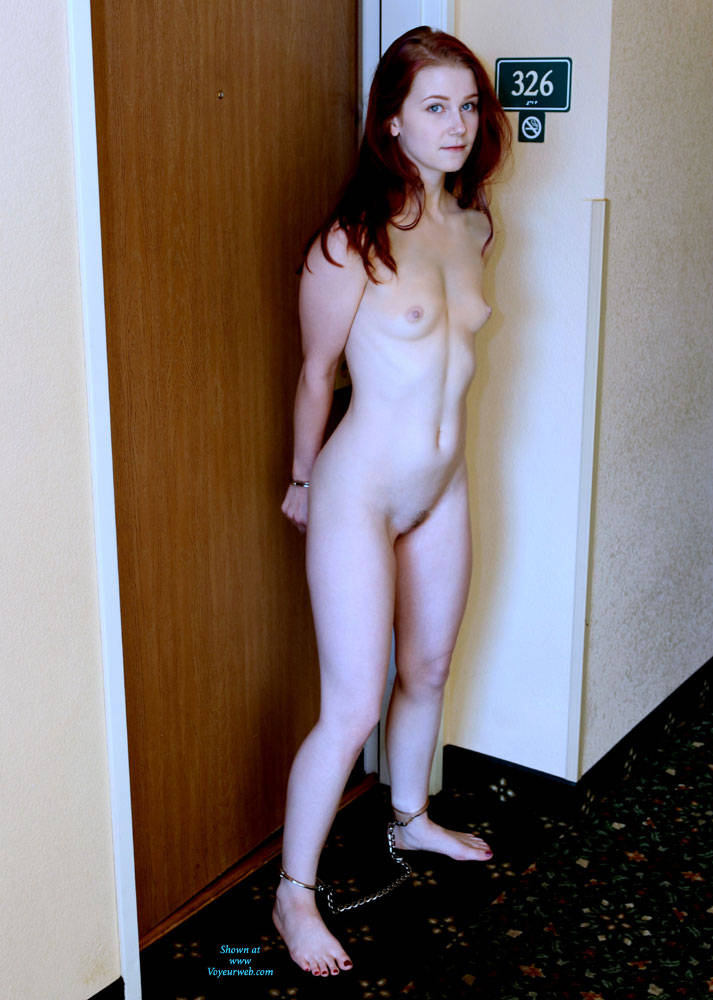 Women naked in handcuff