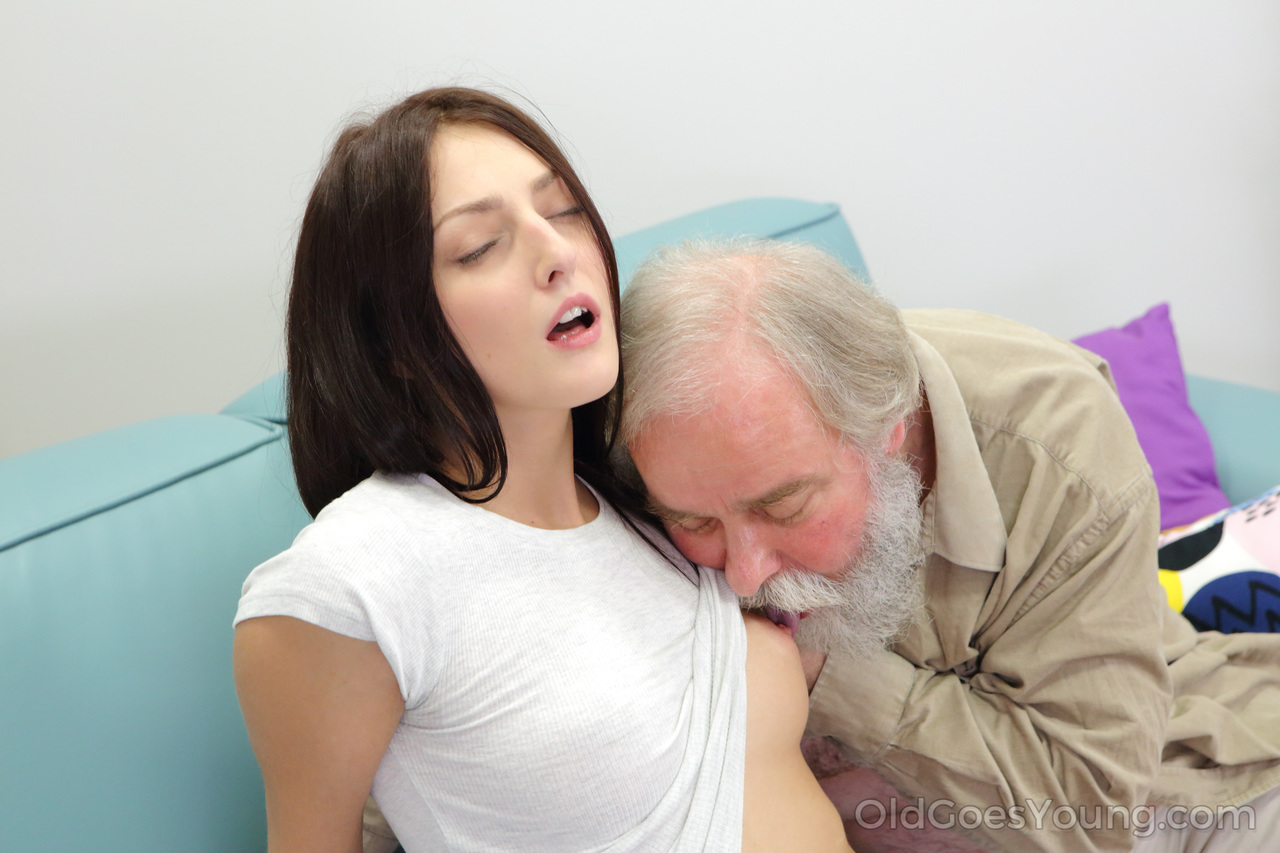 Teen girl and old man sex