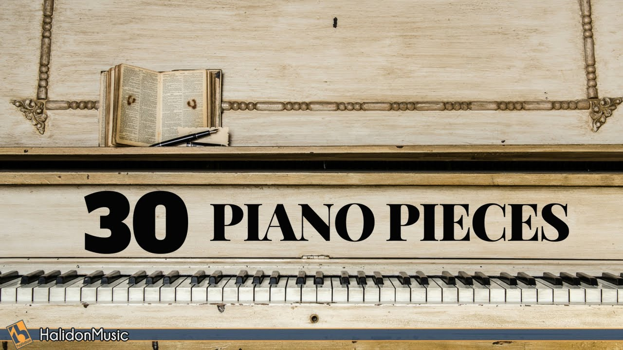 Great popular piano songs