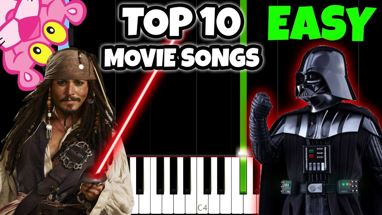 Most popular easy piano songs
