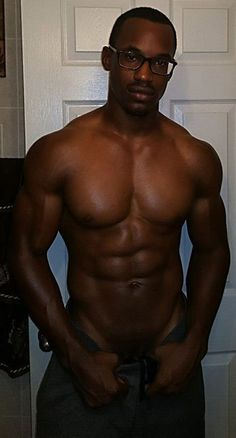 Naked black guys i think are sexy